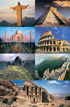 The 7 New Wonders Of World Colosseum Jigsaw Puzzle