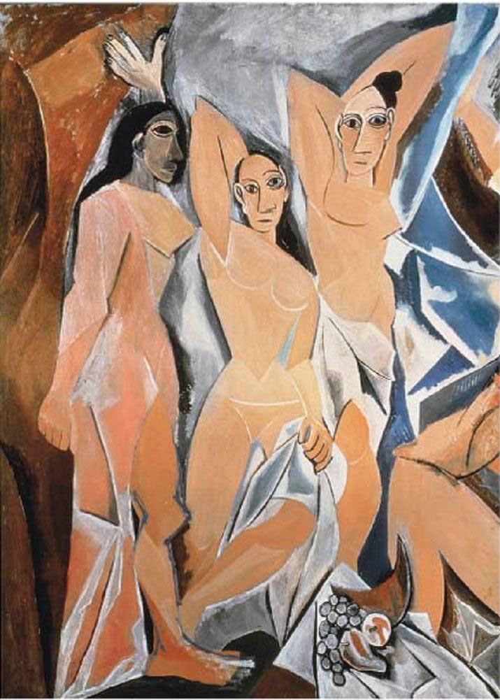 Les Demoiselles D'avignon Fine Art Jigsaw Puzzle