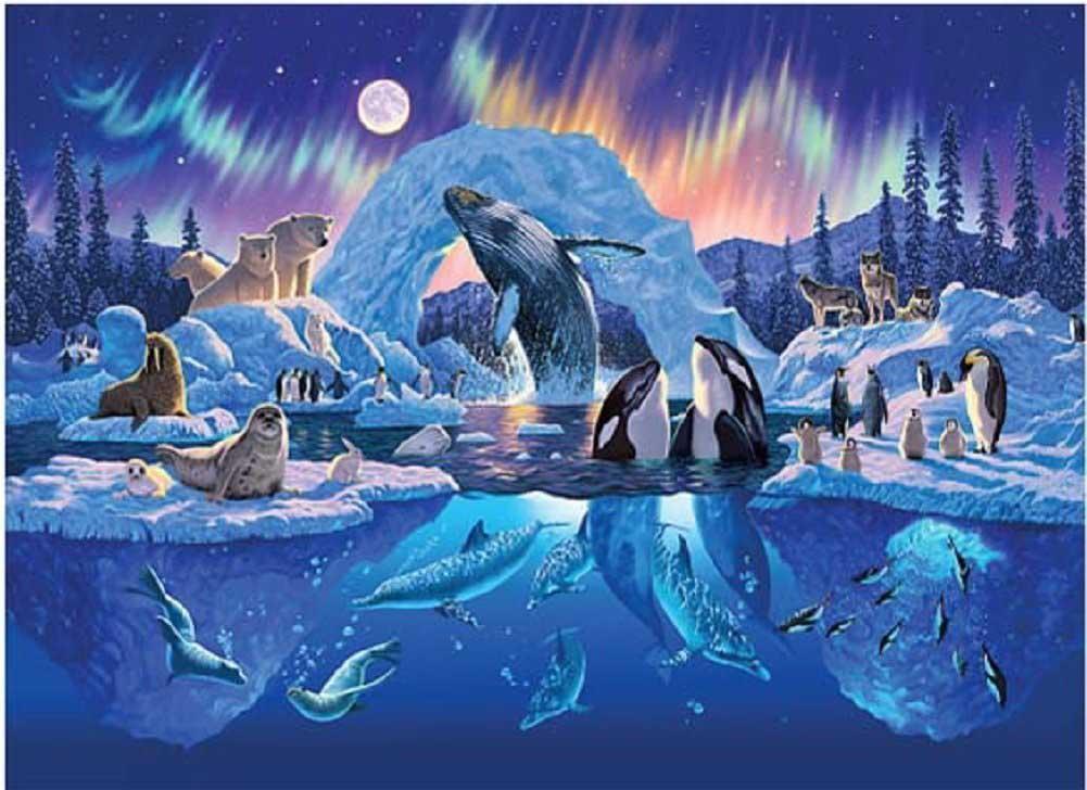 Arctic Harmony Animals Jigsaw Puzzle