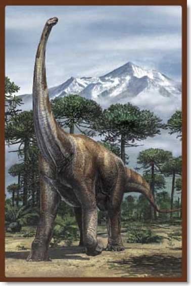 Land of Dinosaurs - 3 Dinosaurs Jigsaw Puzzle