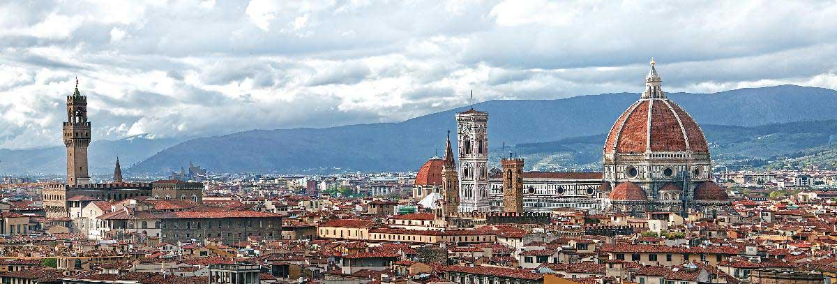 Historic Centre of Florence in Italy Italy Jigsaw Puzzle