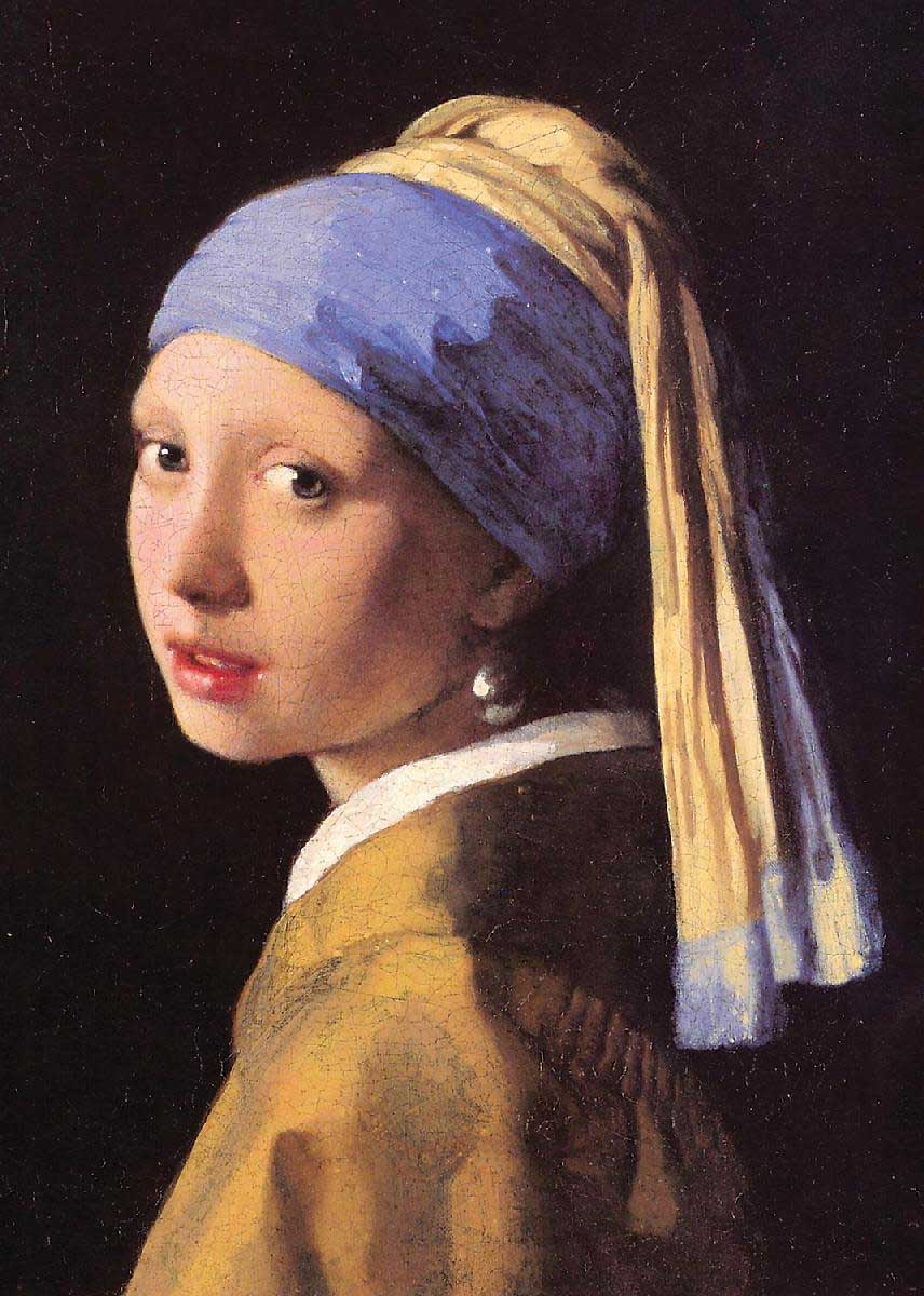 Girl With Pearl Earring (Mini) Fine Art Jigsaw Puzzle
