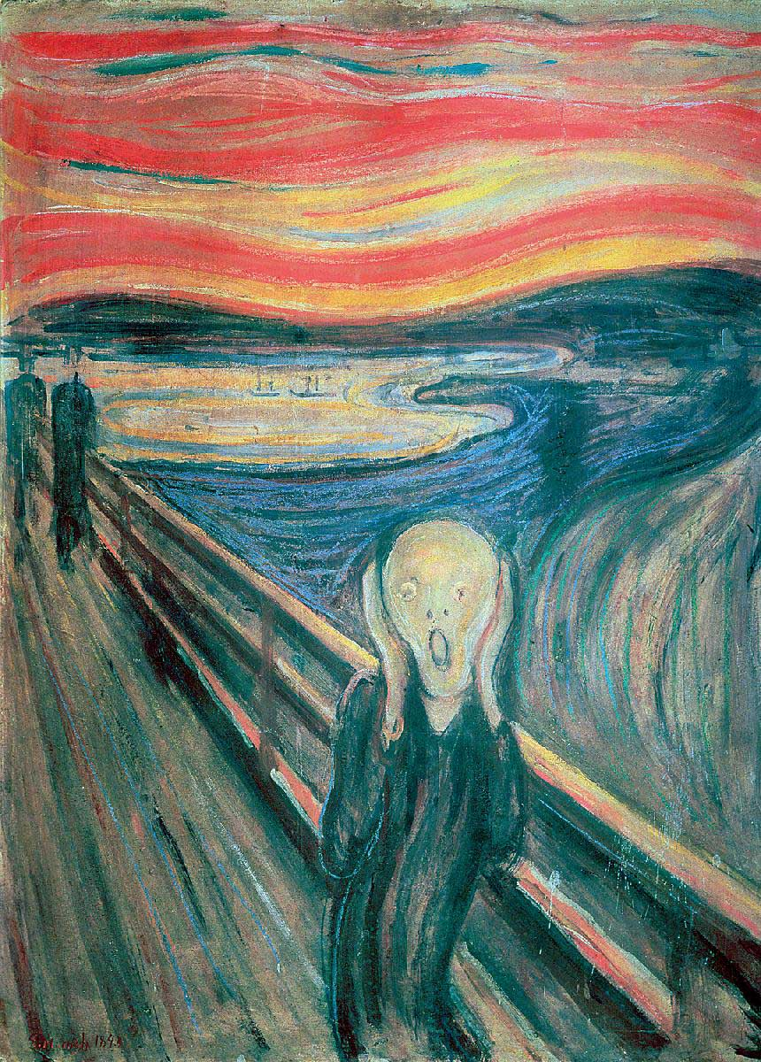 The Scream Fine Art Jigsaw Puzzle