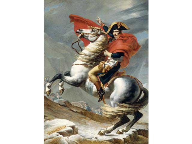 The Napoleon Crossing the Alps History Jigsaw Puzzle