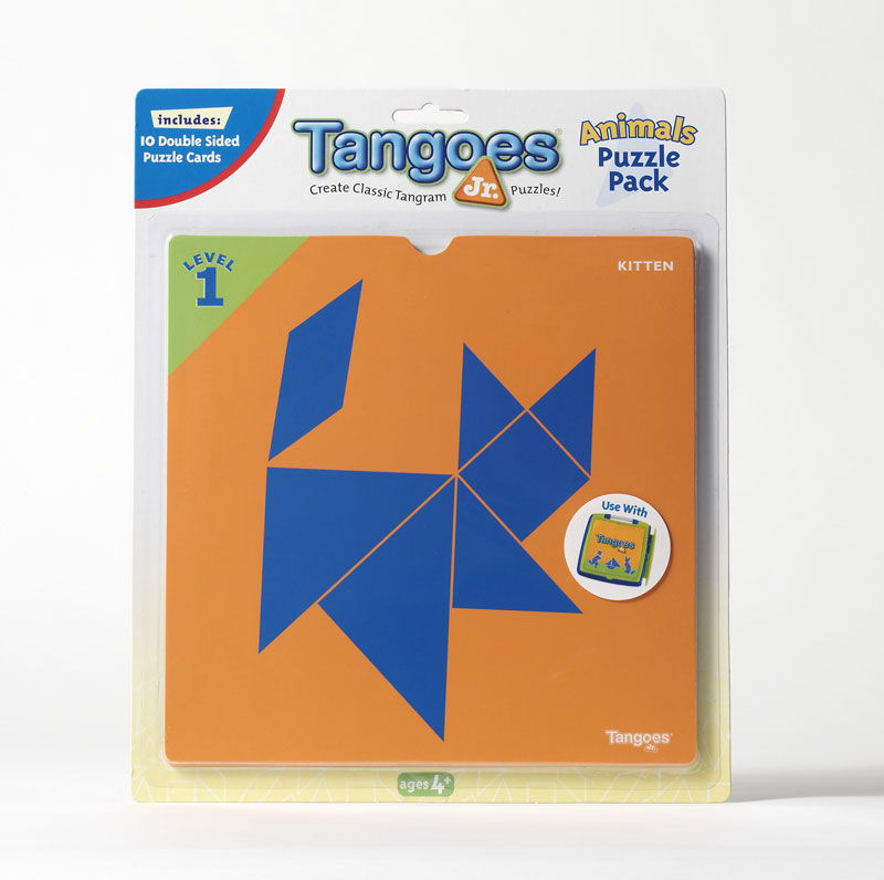 Tangoes Jr. Puzzle Pack - Animals Strategy/Logic Games