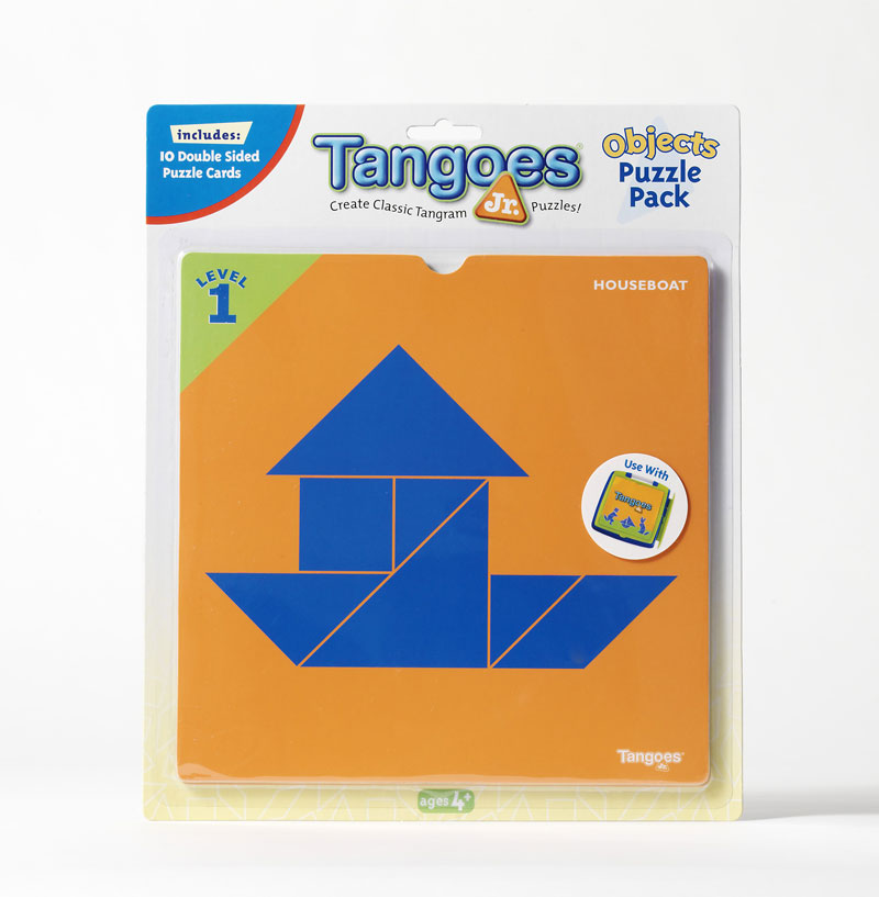 Tangoes Jr. Puzzle Pack - Objects Strategy/Logic Games Game