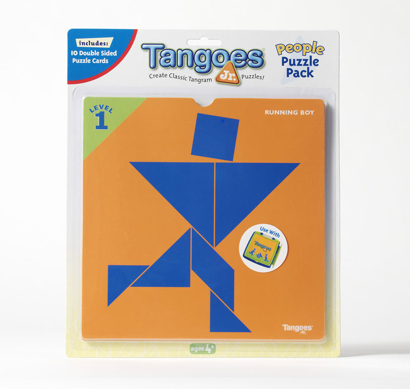 Tangoes Jr. Puzzle Pack - People Strategy/Logic Games Game