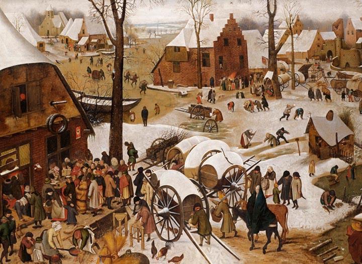 The Census at Bethlehem by Pieter Bruegel The Elder Fine Art