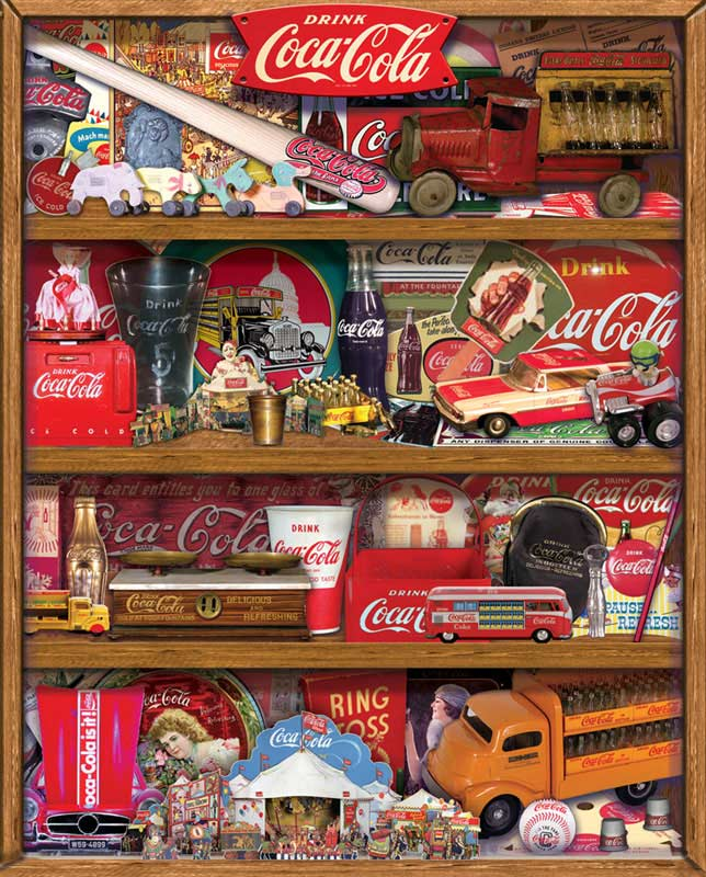 The Collection Coca Cola Jigsaw Puzzle