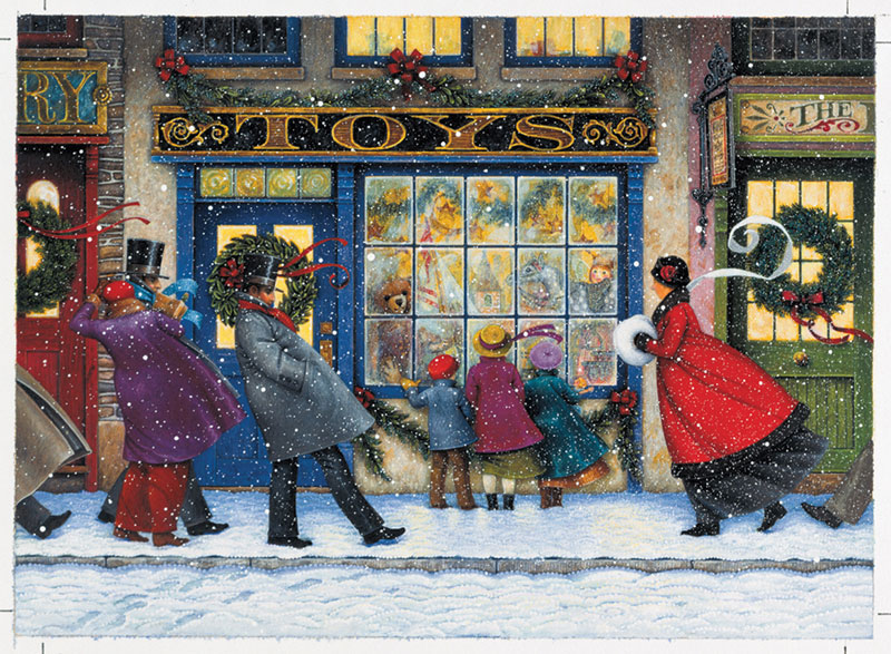 The Toy Shoppe Christmas Jigsaw Puzzle