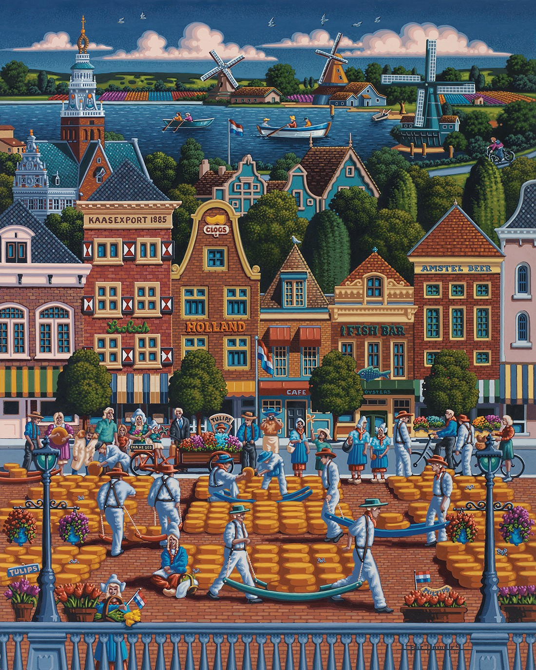 The Netherlands Travel Jigsaw Puzzle