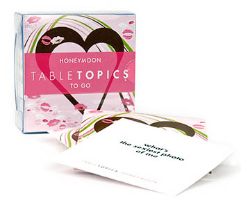 Table Topics To Go - Honeymoon Party Games Card Game