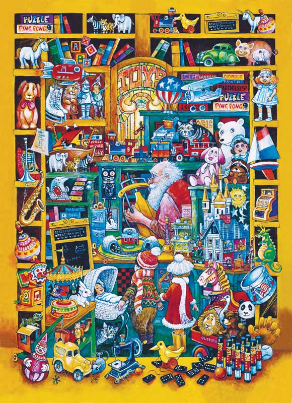 Toys & Tots Christmas Children's Puzzles