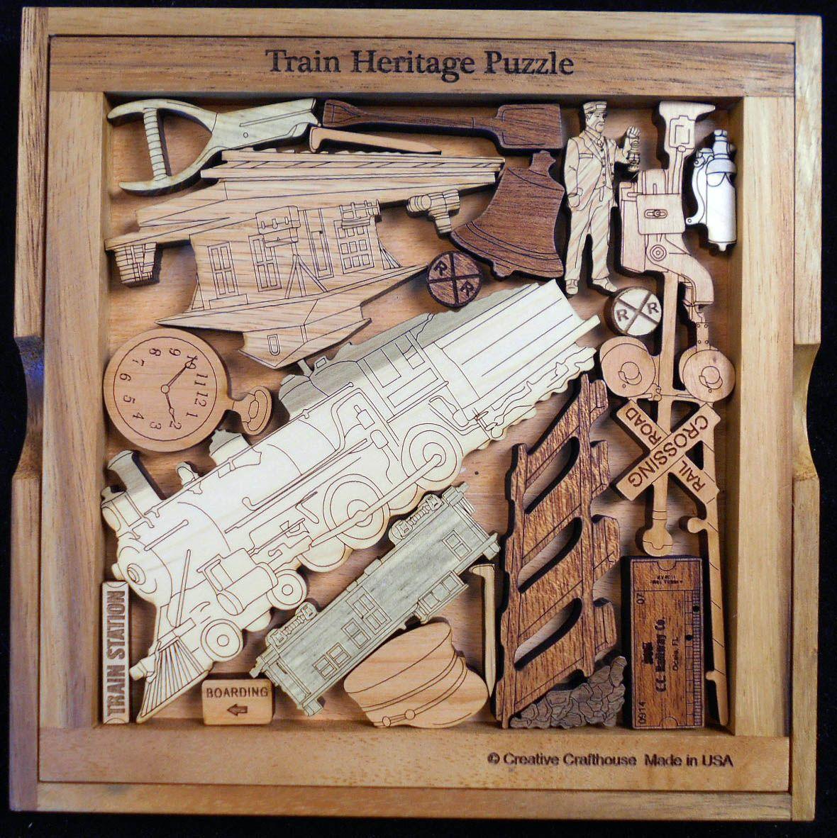 Train Heritage Railroad Puzzle