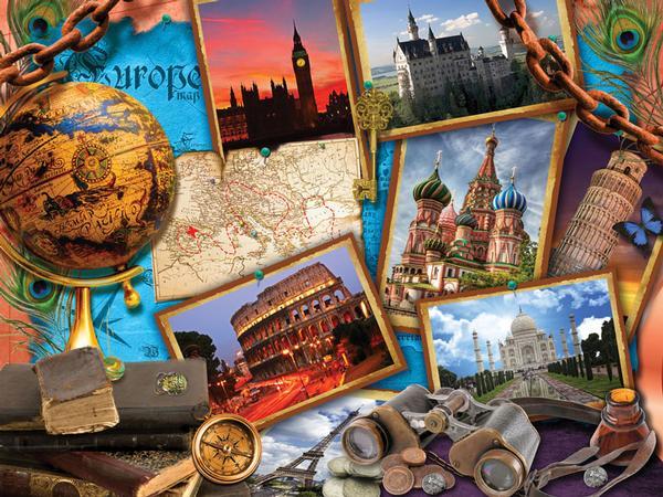Encyclopaedia Britannica - Travel Jigsaw Puzzle   PuzzleWarehouse.com