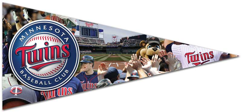 Pennant - Minnesota Twins Sports Jigsaw Puzzle
