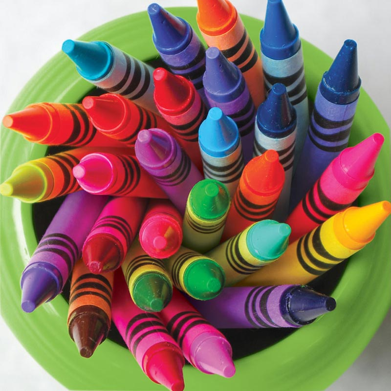 Twist of Color Everyday Objects Jigsaw Puzzle