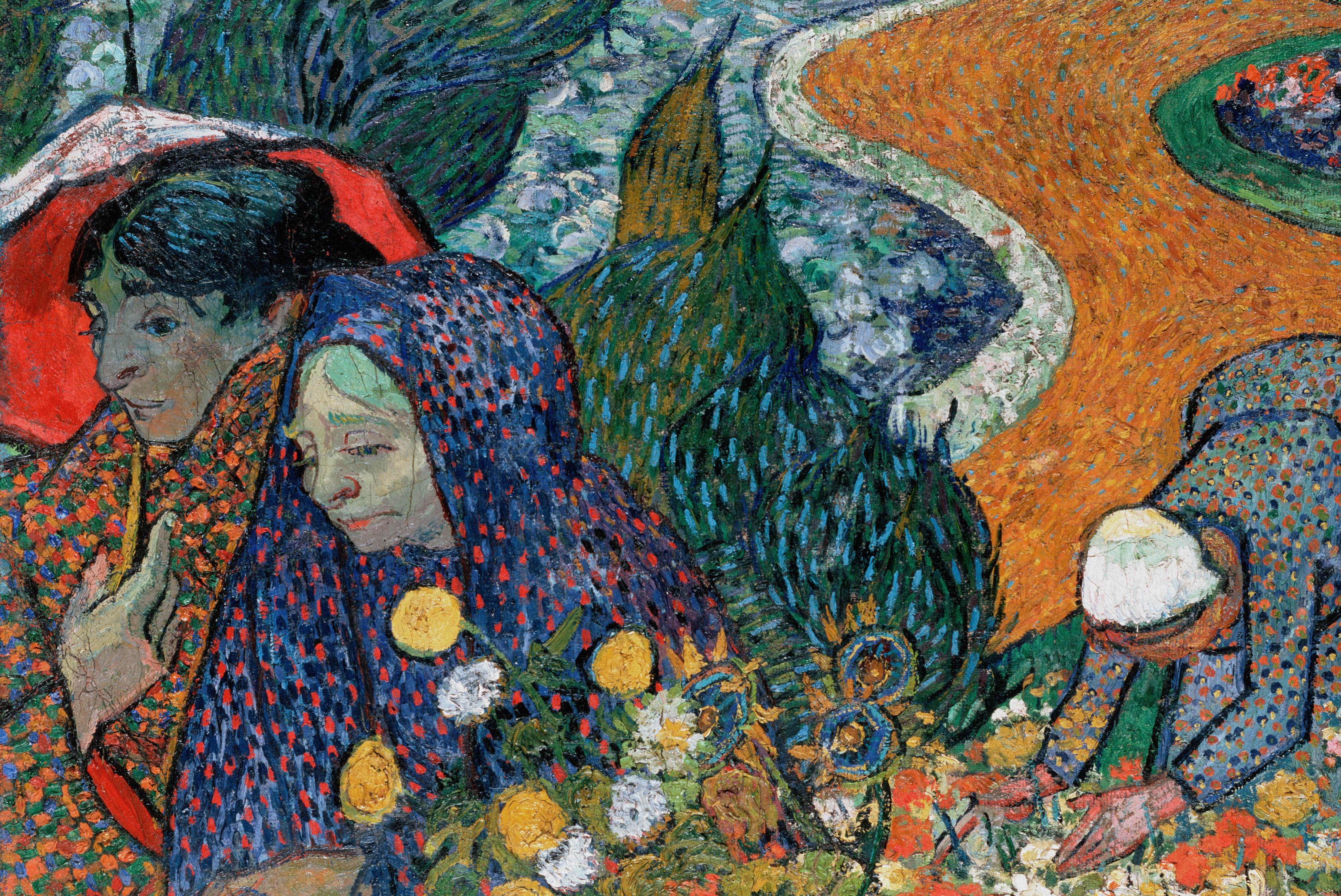 Ladies of Arles by Van Gogh Fine Art