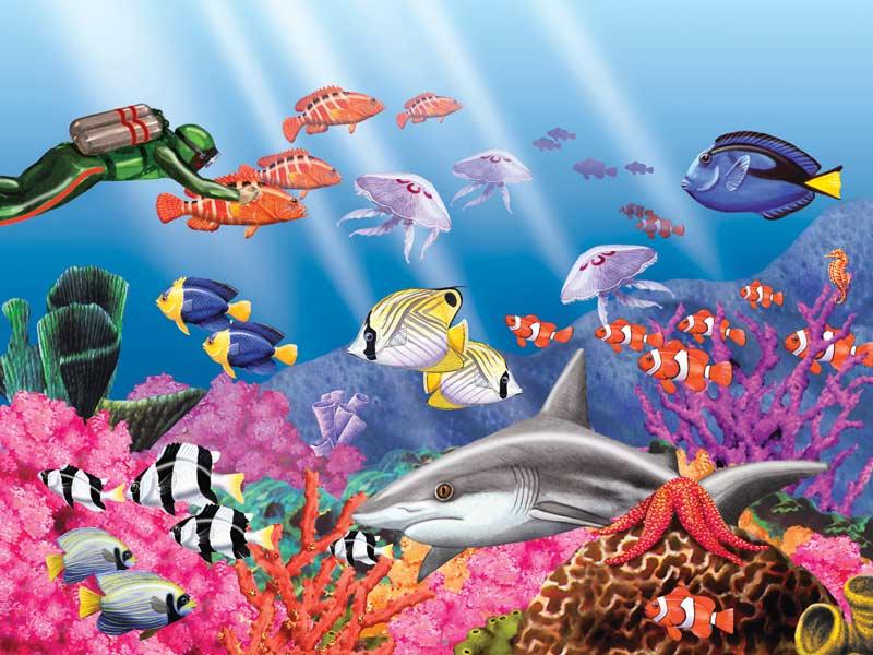 Undersea World Fish Children's Puzzles