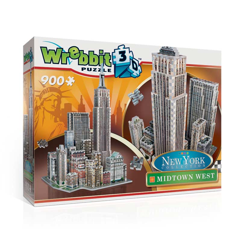 Midtown West - Empire State Landmarks / Monuments Jigsaw Puzzle