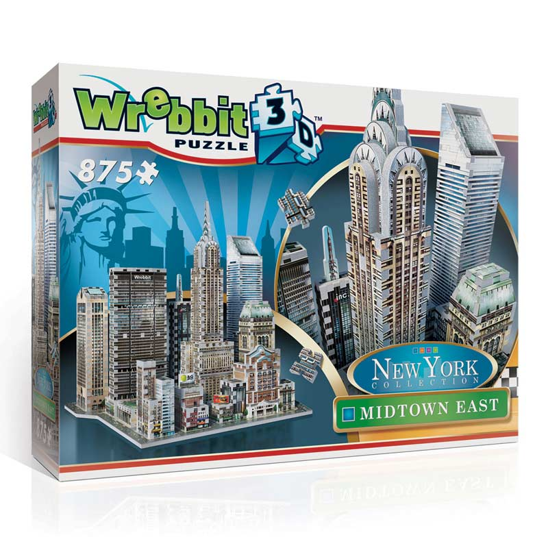 Midtown East - Chrysler Landmarks / Monuments Jigsaw Puzzle