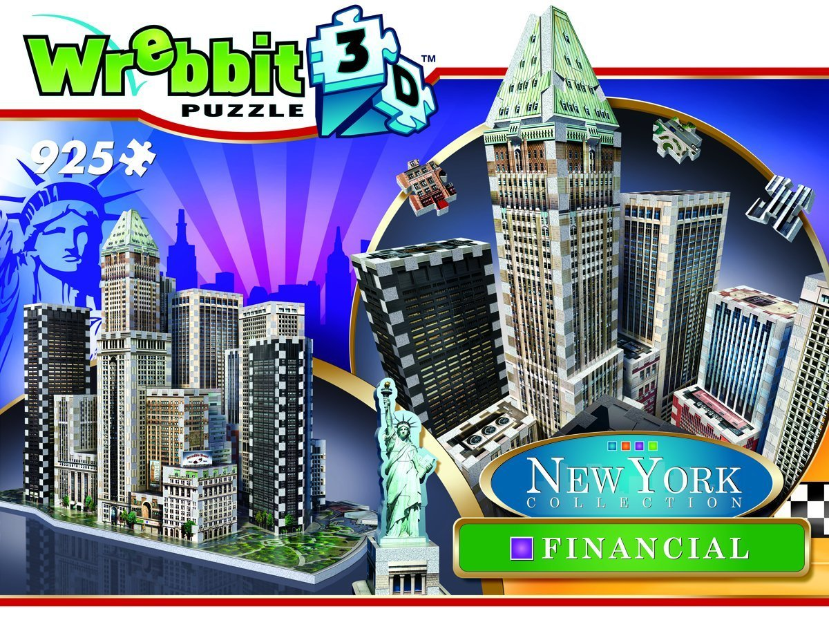 Financial - New York City Landmarks / Monuments 3D Puzzle