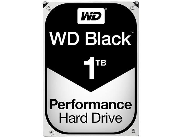 Western Digital Black WD4005FZBX 1TB 7200RPM SATA3/SATA 6.0 GB/s 256MB PC Hard Drive (3.5 inch)