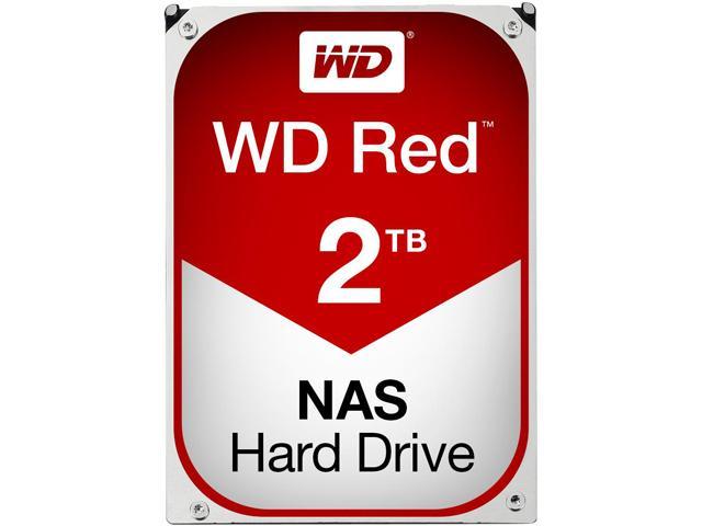 Western Digital Red WD20EFRX 2TB SATA3 IntelliPower 64MB Hard Drive (3.5 inch)