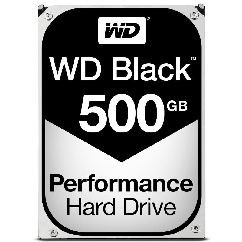 Western Digital Black WD5003AZEX 500GB 7200RPM SATA3/SATA 6.0 GB/s 64MB Hard Drive (3.5 inch)