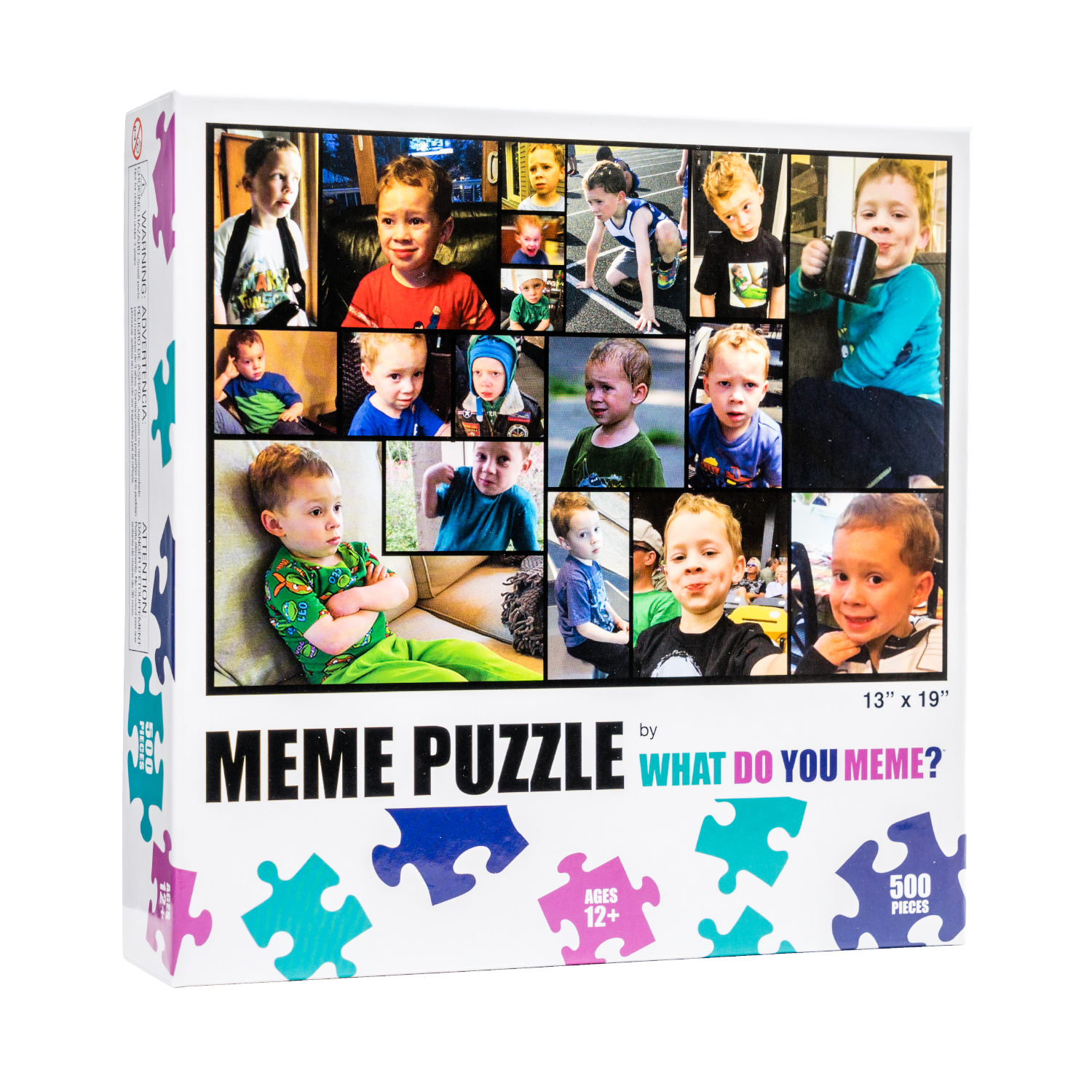 What Do You Meme Gavin Photography Jigsaw Puzzle
