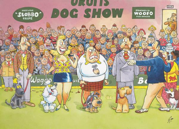 Wasgij Mystery #1 - Dog Show - 150 Wasgij Jigsaw Puzzle
