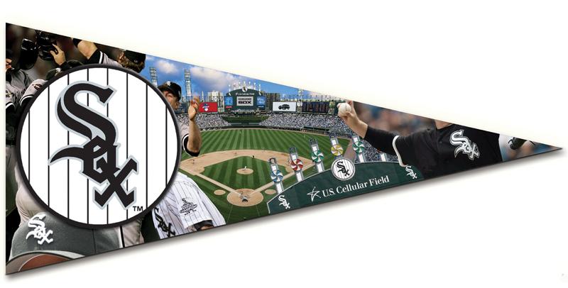 Pennant - White Sox Baseball Jigsaw Puzzle