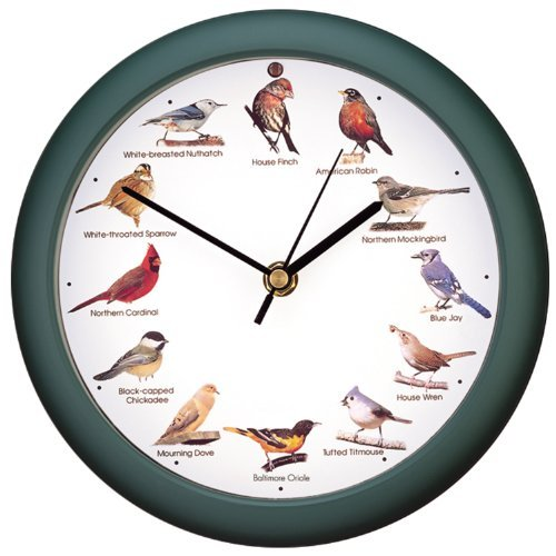Wild Game Bird Clock Birds Novelty