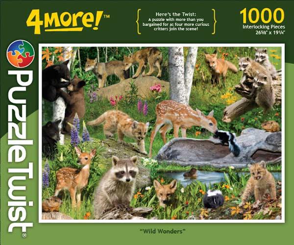 Wild Wonders Wildlife Hidden Images