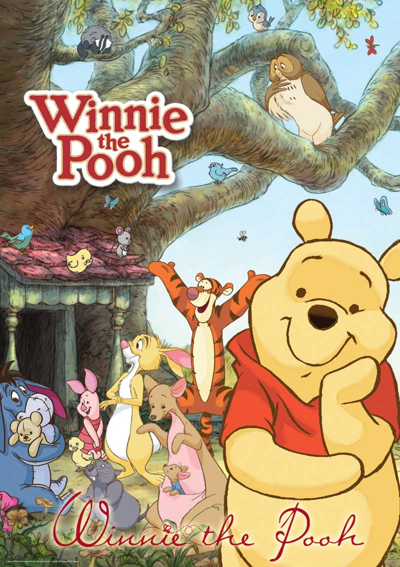 Disney Poster Puzzle - Winnie the Pooh Disney Jigsaw Puzzle