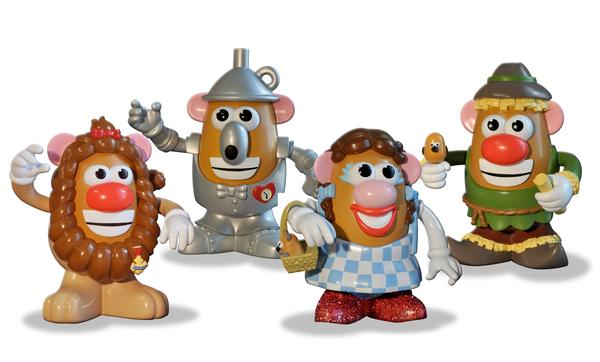 Wizard of Oz Mr. Potato Head Set Famous People Toy