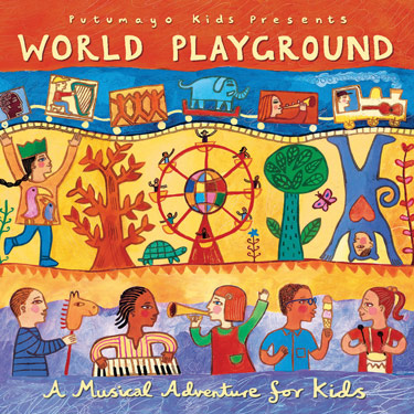 World Playground CD Travel Music CD