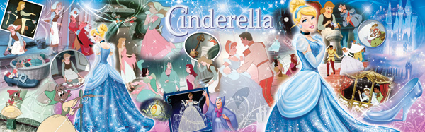 Disney Panorama - World of Cinderella Disney Jigsaw Puzzle