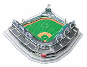 MLB - Chicago Cubs Wrigley Field 3-D Puzzle Sports Jigsaw Puzzle