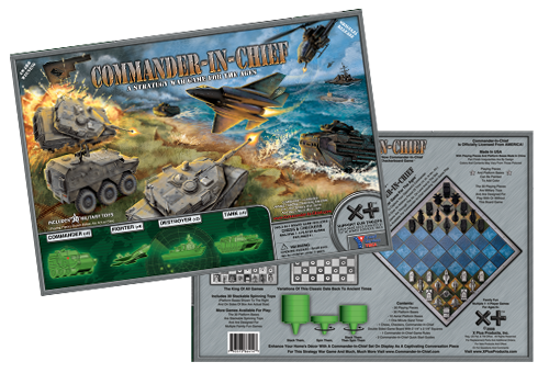 Commander-in-Chief Board Game