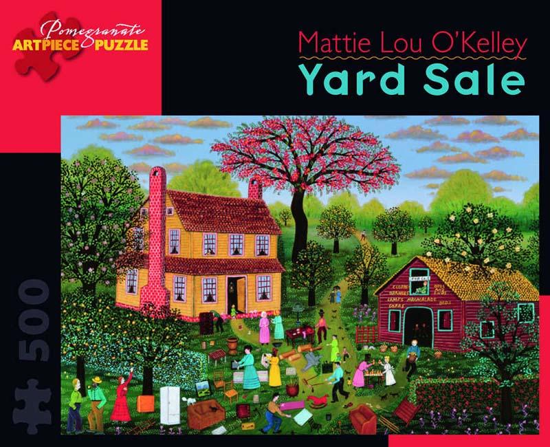 Yard Sale Spring Jigsaw Puzzle