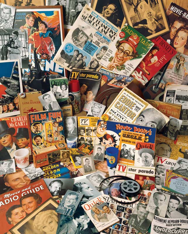 Yesteryear Famous People Jigsaw Puzzle