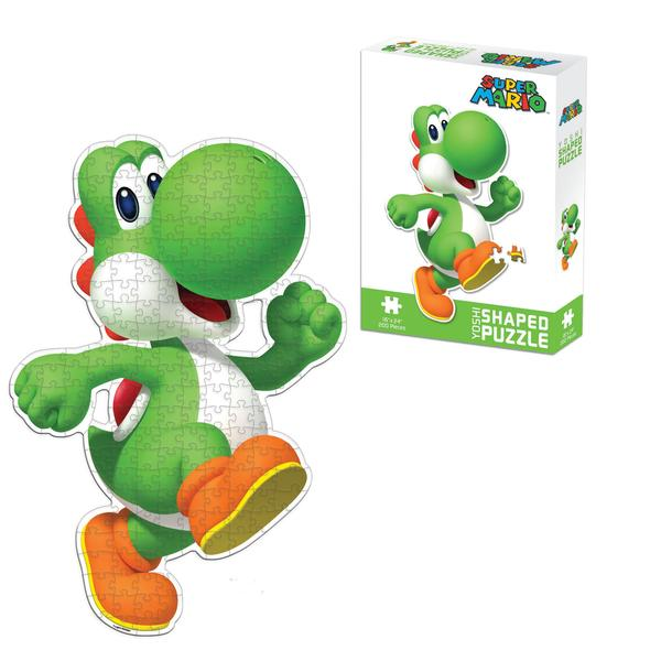 Yoshi Shaped Puzzle Cartoons Children's Puzzles