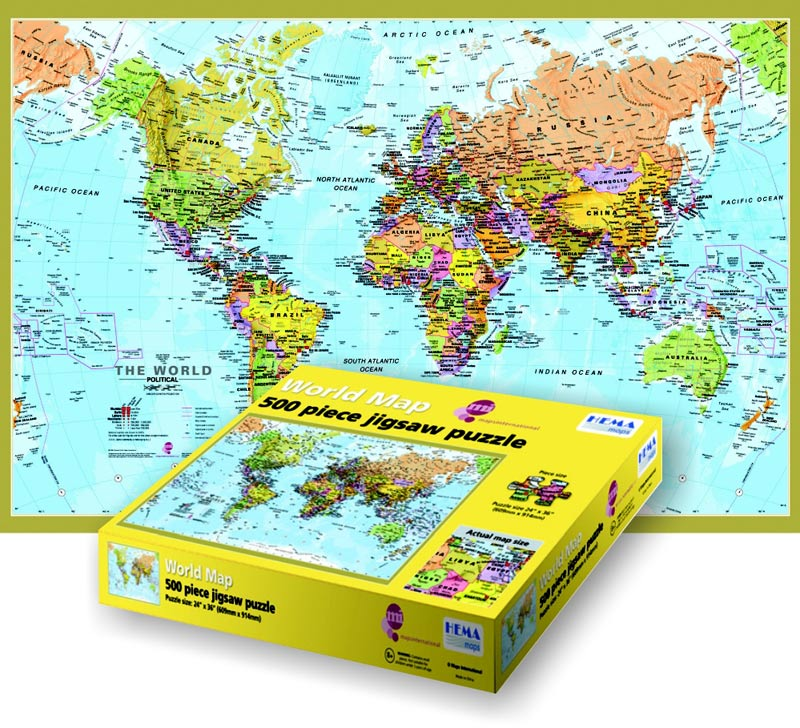 Maps International Maps Jigsaw Puzzle