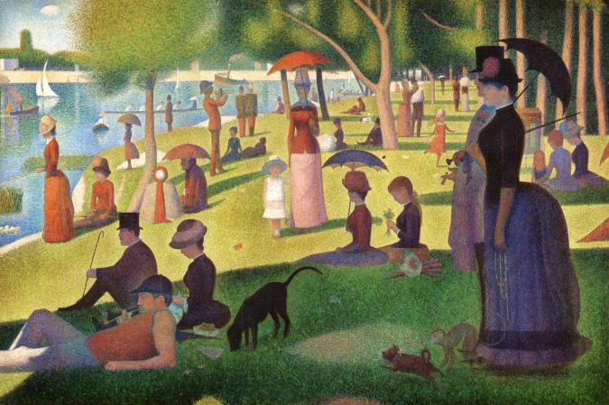 A Sunday on A La Grande Jatte by Georges-Pierre Seurat Fine Art