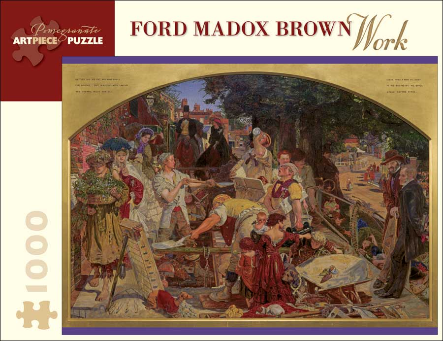 Ford Madox Brown: Work Jigsaw Puzzle