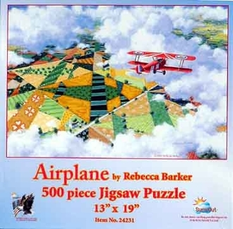 Airplane Planes Jigsaw Puzzle