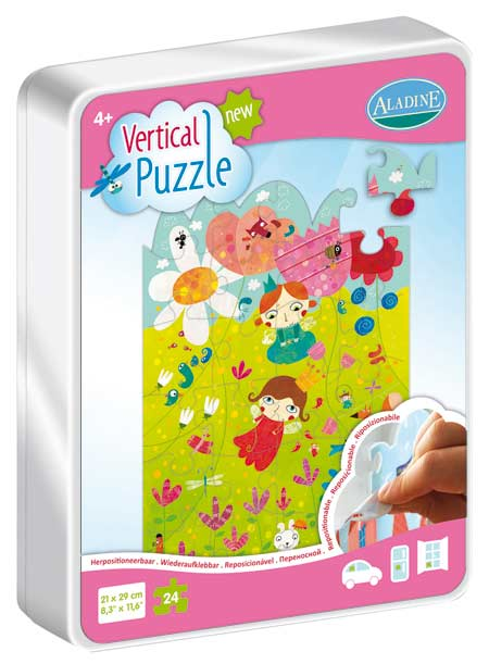Vertical Puzzle - Fairy 24 Fairies Jigsaw Puzzle