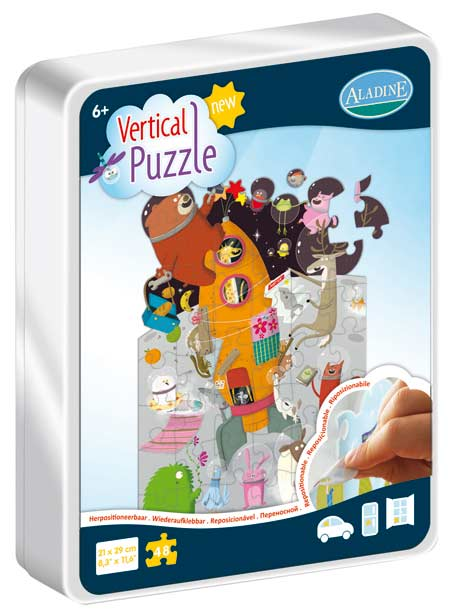 Vertical Puzzle - Rocket 48 Space Jigsaw Puzzle