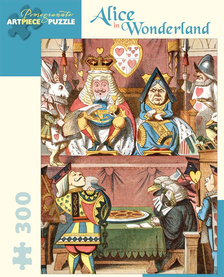 Alice in Wonderland Fine Art Jigsaw Puzzle